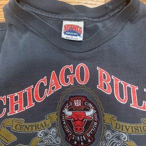 nutmeg Shirts - Vintage Nutmeg Athletics Chicago Bulls T shirt XL